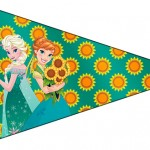 Bandeirinha Sanduiche 2 Frozen Fever Cute