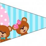 Bandeirinha Sanduiche 3 Chá Revelação