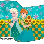 Bandeirinha Sanduiche Frozen Fever Cute