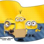 Bandeirinha Sanduiche Os Minions