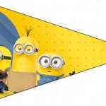 Bandeirinha Sanduiche Os Minions 2