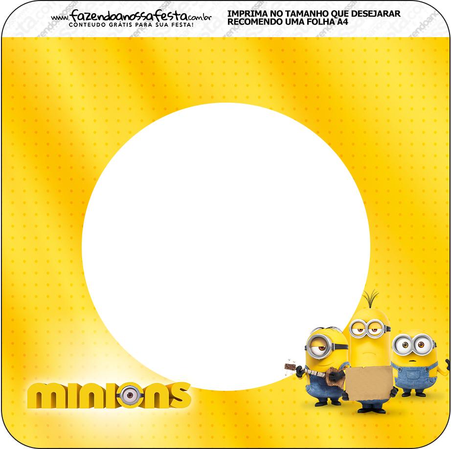 Bandeirinha Varalzinho 2 Os Minions