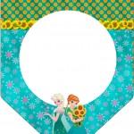 Bandeirinha Varalzinho Frozen Fever Cute