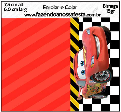 Bisnaga Brigadeiro 15gr Carros Disney