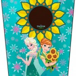 Bisnaga Flip Top Frozen Fever Cute