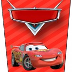 Bisnaga Flip top Carros Disney