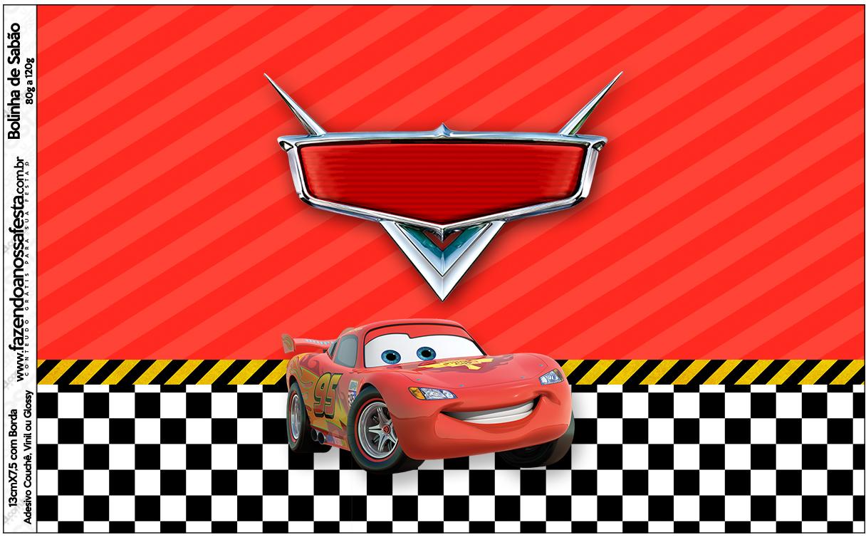 Bolinha de Sabão Carros Disney