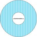 CD DVD Azul e Rosa