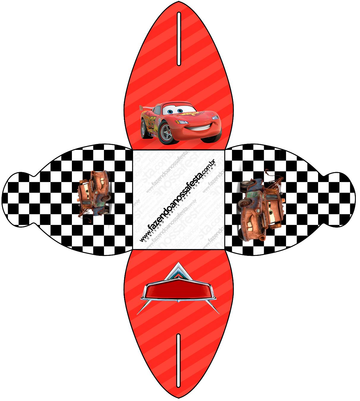 Caixa Carros Disney