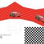 Caixa Casinha Carros Disney