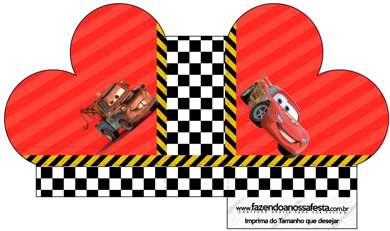 Caixa Coração Carros Disney