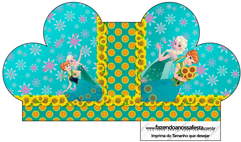 Caixa Coração Frozen Fever Cute