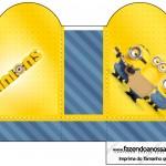 Caixa Coração Os Minions
