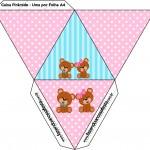 Caixa Pirâmide Chá Revelação