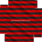 Caixa de Bombom Dia dos Pais Flamengo- parte de baixo