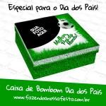 Caixa de Bombom Dia dos Pais Personalizada