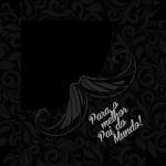 Caixa de Bombom Dia dos Pais Mustache Preto