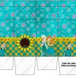 Caixa de Leite Frozen Fever Cute