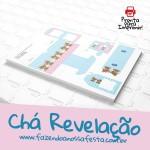 Chá Revelação – Kit Festa Completo Grátis