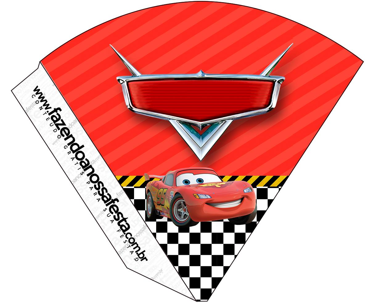 Cone Guloseimas Carros Disney