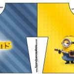 Convite Camisa Os Minions
