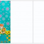 Convite, Cardápio ou Cronograma em Z Frozen Fever Cute