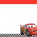 Convite Carros Disney 3