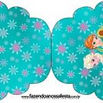 Convite Cupcake Frozen Fever Cute