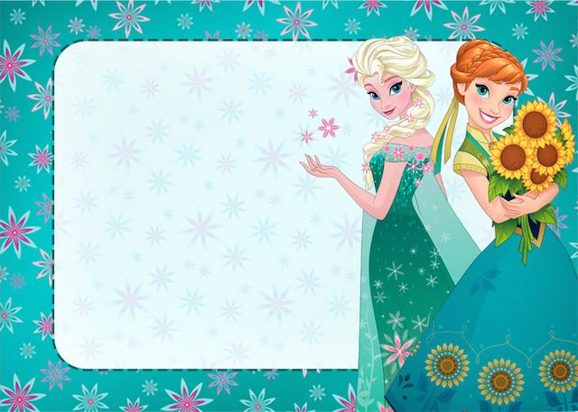 Convite Frozen Febre Congelante Fofo - Grátis