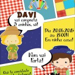 Convite Gibi Festa Junina 1