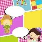 Convite Gibi Festa Junina 2