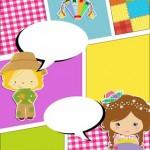 Convite Gibi Festa Junina 4
