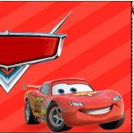 Convite Ingresso Carros Disney