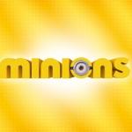 Convite, Moldura ou Cartão para Festa Os Minions