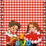 Convite para Festa Infantil Junina