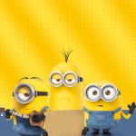 Convite para Festa Os Minions