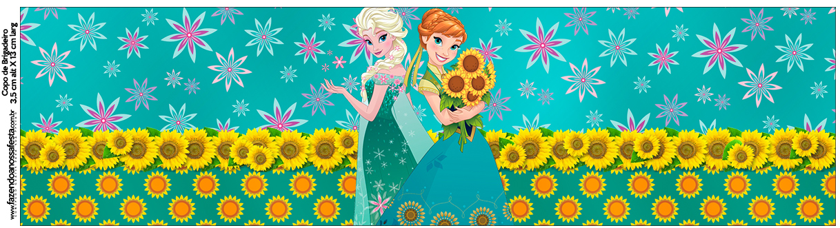 Copo Brigadeiro Frozen Fever Cute