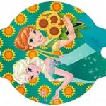 Enfeite Canudinho Frozen Fever Cute