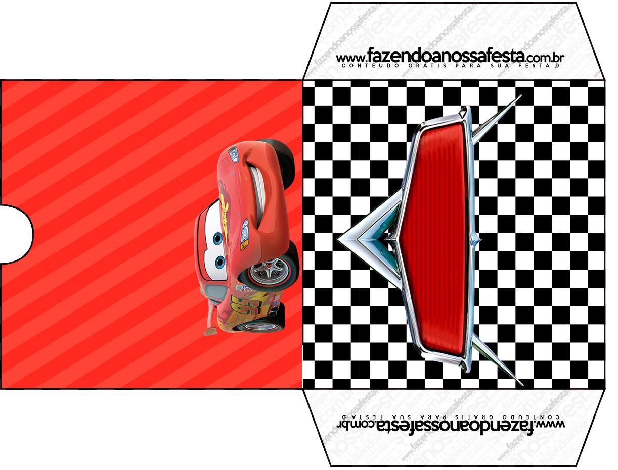 Envelope CD DVD Carros Disney