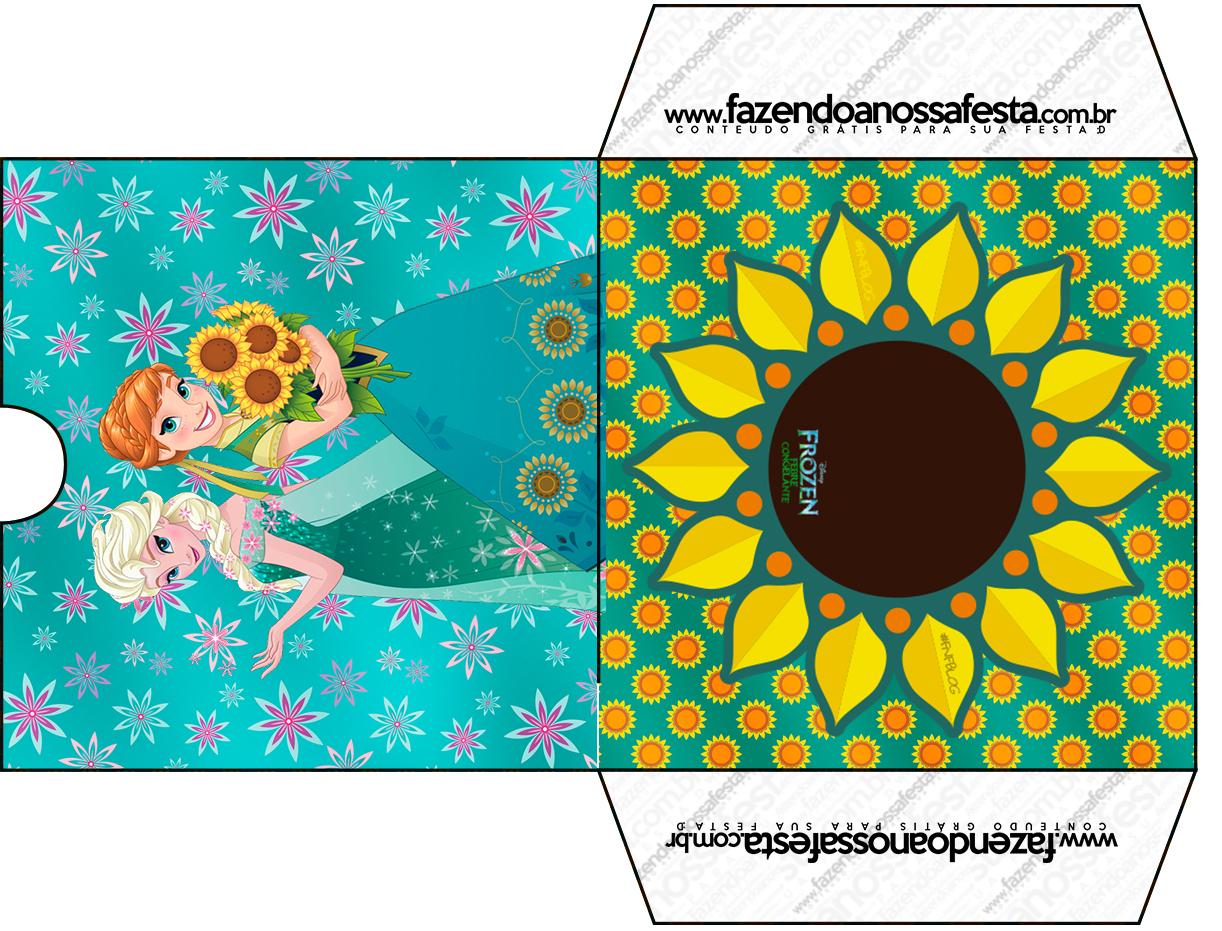 Envelope CD DVD Frozen Fever Cute