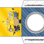 Envelope CD DVD Os Minions