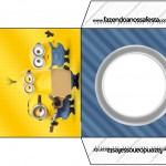 Envelope CD DVD Os Minions