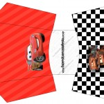 Envelope Fritas Carros Disney