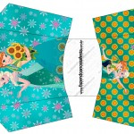 Envelope Fritas Frozen Fever Cute