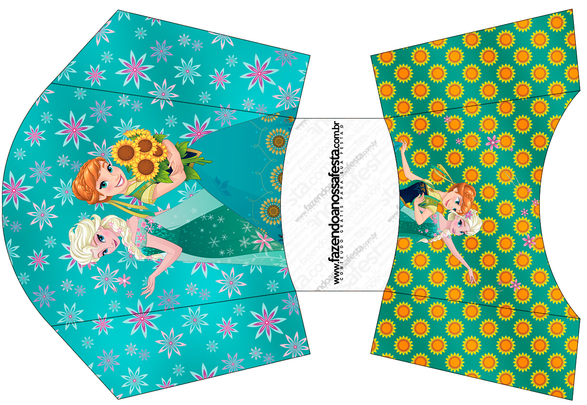 Envelope Fritas Frozen Fever Cute
