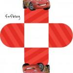 Forminha 3D Carros Disney