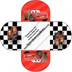 Forminhas Docinhos Redonda Carros Disney