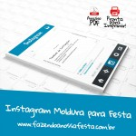 Instagram Moldura para Festa – Pronta para Imprimir