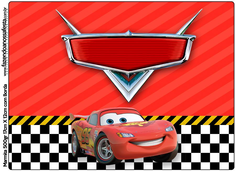 Marmita 500gr Carros Disney