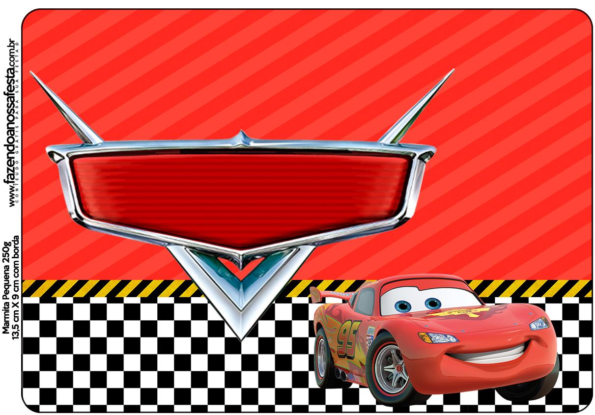 Marmita Pequena Carros Disney